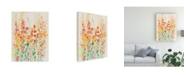 "Trademark Global Tim Otoole Brilliant Floral II Canvas Art - 15"" x 20"""