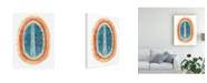 "Trademark Global June Erica Vess Ovoid I Canvas Art - 20"" x 25"""