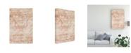 """Trademark Global June Erica Vess Garnet Weft III Canvas Art - 20"""" x 25"""""""