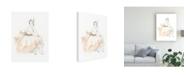 "Trademark Global June Erica Vess Blush and Grey Fashion II Canvas Art - 37"" x 49"""