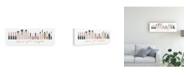"Trademark Global Marco Fabiano Wake Up and Make Up IX V2 Canvas Art - 20"" x 25"""