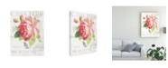 "Trademark Global Danhui Nai Maison Des Fleurs VIII Canvas Art - 15"" x 20"""