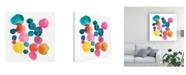 "Trademark Global Chariklia Zarris Jig II Canvas Art - 20"" x 25"""