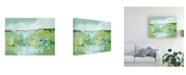 "Trademark Global Christina Long Spring Green I Canvas Art - 15"" x 20"""