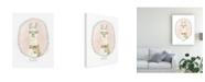"Trademark Global June Erica Vess Caffeinated Cutie II Canvas Art - 37"" x 49"""