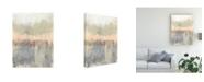 "Trademark Global Jennifer Goldberger Blush Neutrals I Canvas Art - 15"" x 20"""