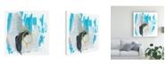 "Trademark Global June Erica Vess Symphony in Riffs VII Canvas Art - 20"" x 25"""