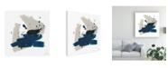 "Trademark Global June Erica Vess Kanji IX Canvas Art - 15"" x 20"""