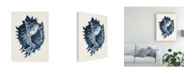 "Trademark Global Vision Studio Coastal Collection in Indigo I Canvas Art - 20"" x 25"""