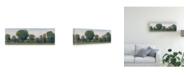 "Trademark Global Tim Otoole Panoramic Tree Line II Canvas Art - 15"" x 20"""