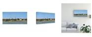 "Trademark Global Dianne Miller Harbor Coast Canvas Art - 20"" x 25"""