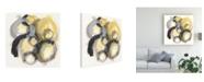 "Trademark Global June Erica Vess Neutron II Canvas Art - 15"" x 20"""
