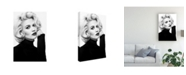 """Trademark Global Peter Muller Photography Day with Marilyn Canvas Art - 20"""" x 25"""""""