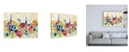 "Trademark Global Silvia Vassileva Sunshine Field Flowers Canvas Art - 36.5"" x 48"""
