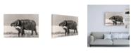 """Trademark Global Jagdeep Rajput A Touching Moment Canvas Art - 27"""" x 33.5"""""""