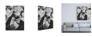 "Trademark Global Design Fabrikken Leaves of Grey Fabrikken Canvas Art - 19.5"" x 26"""
