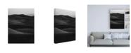 """Trademark Global Design Fabrikken Black Dunes Fabrikken Canvas Art - 36.5"""" x 48"""""""
