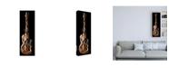 """Trademark Global Roderick Stevens Guitar Wrap Canvas Art - 19.5"""" x 26"""""""