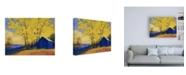 "Trademark Global Mike Kell Hartmans Place Canvas Art - 36.5"" x 48"""