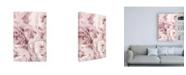 "Trademark Global PhotoINC Studio Peony Flowers Canvas Art - 15.5"" x 21"""
