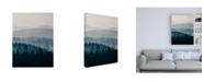 "Trademark Global PhotoINC Studio Blue Mountains II Canvas Art - 15.5"" x 21"""