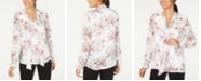 Alfani Printed Layered-Look Top, Created for Macy's