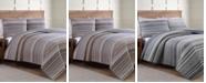 American Home Fashion Estate Taj Twin 2 Piece Quilt Set