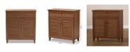 Furniture Coolidge 4-Shelf Cabinet w/ Drawers