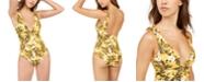 Roxy Juniors' Wavy Soul Printed One-Piece Swimsuit