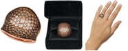 Le Vian Chocolate & Nude Chocolate Souffle™ Chocolate Diamond (2-5/8 ct. t.w.) & Nude Diamond (3/8 ct. t.w.) Statement Ring in 14k Rose, Yellow or White Gold