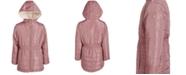 DKNY Big Girls Reversible Faux-Fur Anorak
