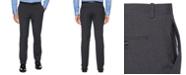 Perry Ellis Men's Tonal Check Slim-Fit Dress Pants