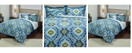 Riztex USA Seaglass King 3 Piece Comforter Set