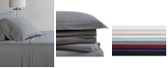 Brooklyn Loom Solid Cotton Percale Sheet Set Collection