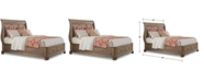 Furniture Gunnison Solid Wood King Storage Bed