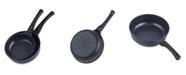 Cook N Home Nonstick Coating Saute Skillet Pans 2-Piece Set