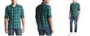 Polo Ralph Lauren Men's Brushed Cotton Plaid Sport Shirt