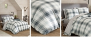 Eddie Bauer Winter Ridge Plaid Green Comforter Set, King