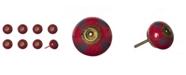 KNOB-IT Handpainted Ceramic Knob Set of 8
