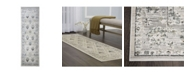 "Christian Siriano Surface Berkshire Cream 2'2"" x 7'2"" Runner Area Rug"