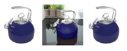 Chantal 1.8Qt. Classic Enamel-On-Steel Teakettle - Cobalt Blue