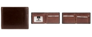 Mancini Casablanca Collection Men's RFID Secure Center Billfold with Removable Left Wing Passcase