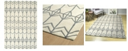 Kaleen Origami ORG05-01 Ivory 8' x 10' Area Rug