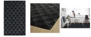 "Kaleen Evanesce ESE04-02 Black 5' x 7'9"" Area Rug"
