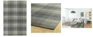 Kaleen Sartorial SAT03-75 Gray 8' x 10' Area Rug
