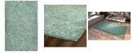 Kaleen Chancellor CHA01-78 Turquoise 2' x 3' Area Rug