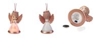 Ne'Qwa Precious Moments Have Faith Resin And Glass LED Angel Ornament