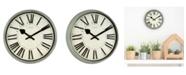 "La Crosse Technology La Crosse Clock 404-3036G 14"" Sage Grove Quartz Wall Clock"