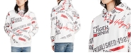 Tommy Hilfiger Men's Kissane Logo Graphic Hoodie