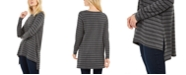 Eileen Fisher Striped High-Low Top, Created for Macy's